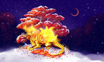 _Red_fire_maple_ by Real-Janifer