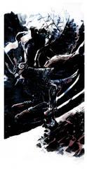 Cyber (?) Samurai by Schall