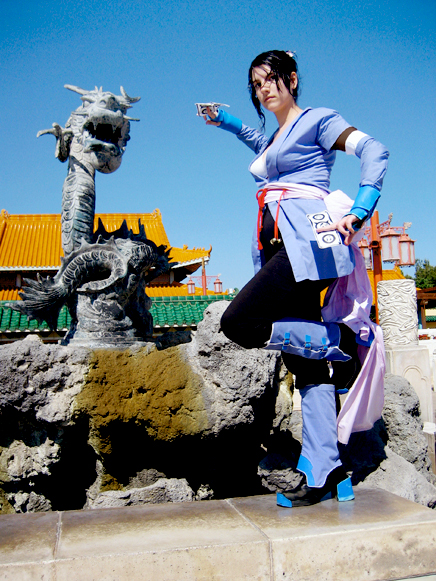 Fotografía de Cosplay The_Dragon_Fountain_by_The_Radishes