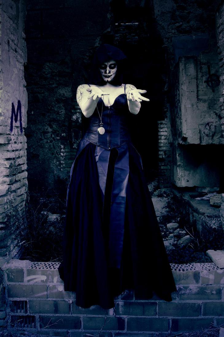 Lady death by Kalavel-Loki