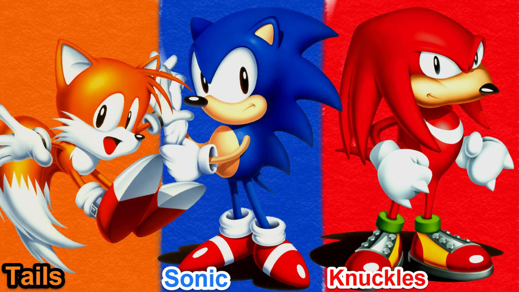 Classic Team Sonic Wallpaper By KnucklesBlazeFan