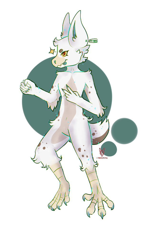 Banuu Mascot | A-003 by spriingpetal