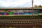 Trainside Graffiti II