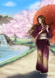 Poster / Cartel ~ Novelda's VI Manga Expo by Iruno