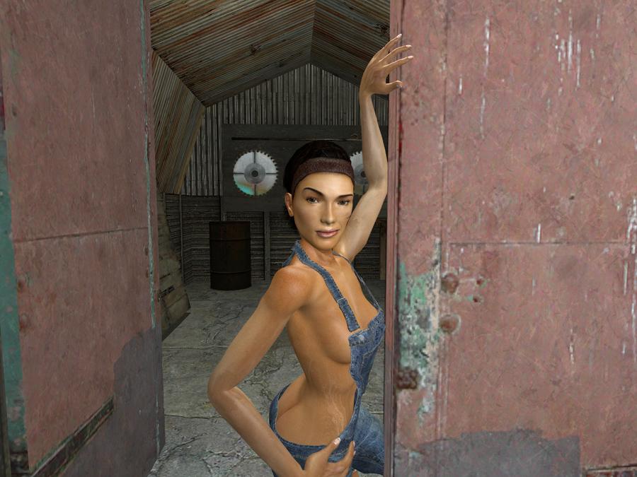 Naked Alyx Skin 97