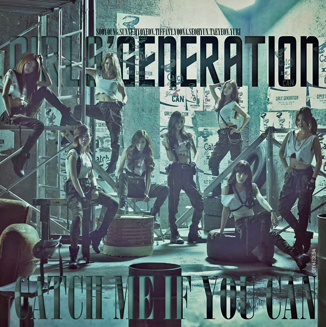 Snsd Catch Me If You Can By Diyeah9tee4 On Deviantart