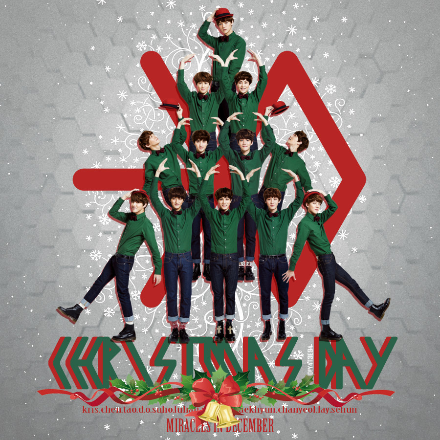 Exo Christmas Album Cover.Exo K Christmas Day By Diyeah9tee4 On Deviantart