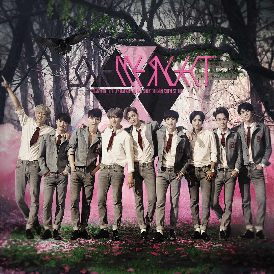 EXO Love Me Right by DiYeah9Tee4 on DeviantArt
