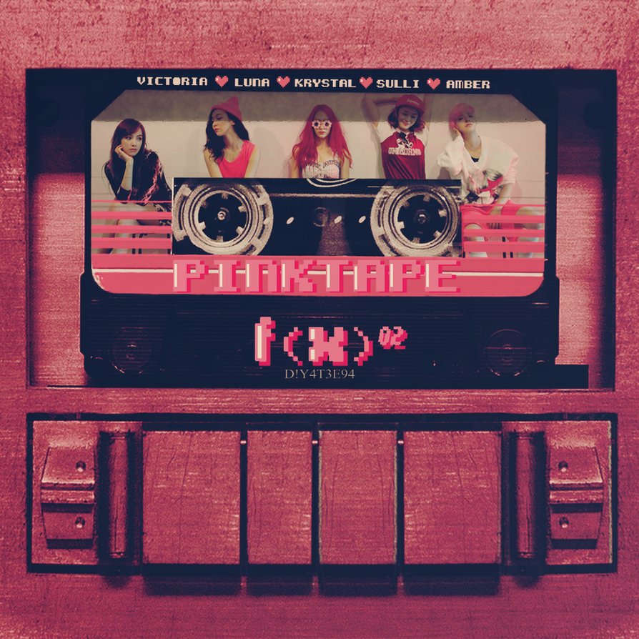 F(X) - The 2nd Album 'Pink Tape' by DiYeah9Tee4 on DeviantArt F(x) Pink Tape