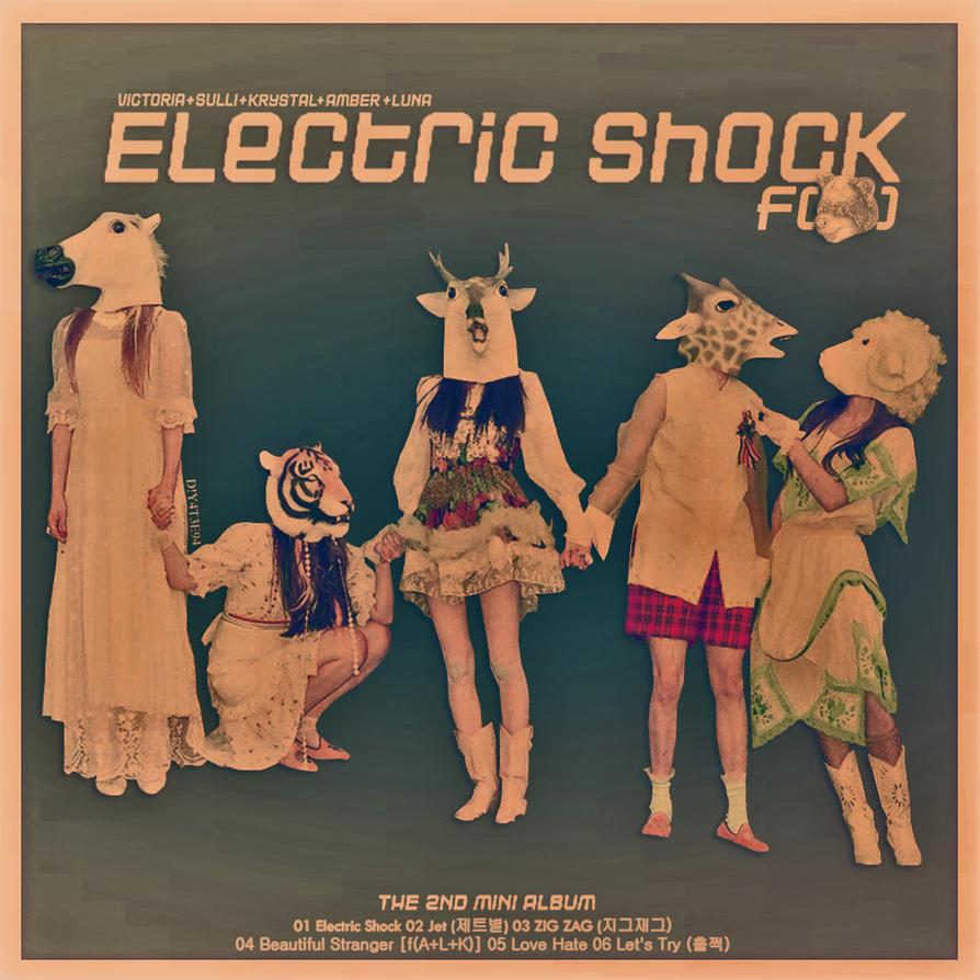 F(X) - Electric Shock Album by DiYeah9Tee4 on DeviantArt F(x) Electric Shock Album Cover