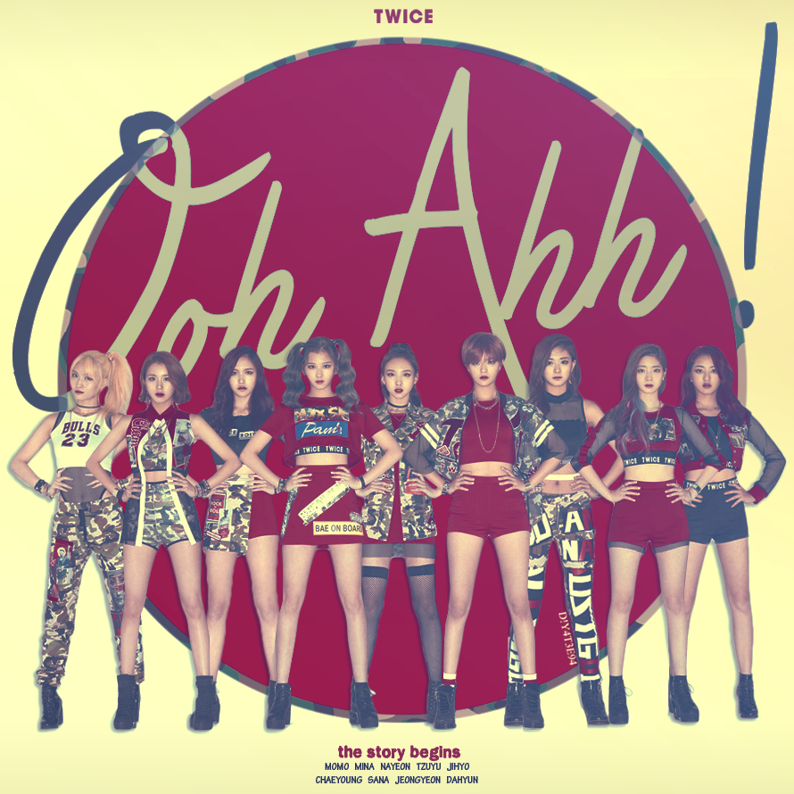 Twice Ooh Ahh By Diyeah9tee4 On Deviantart