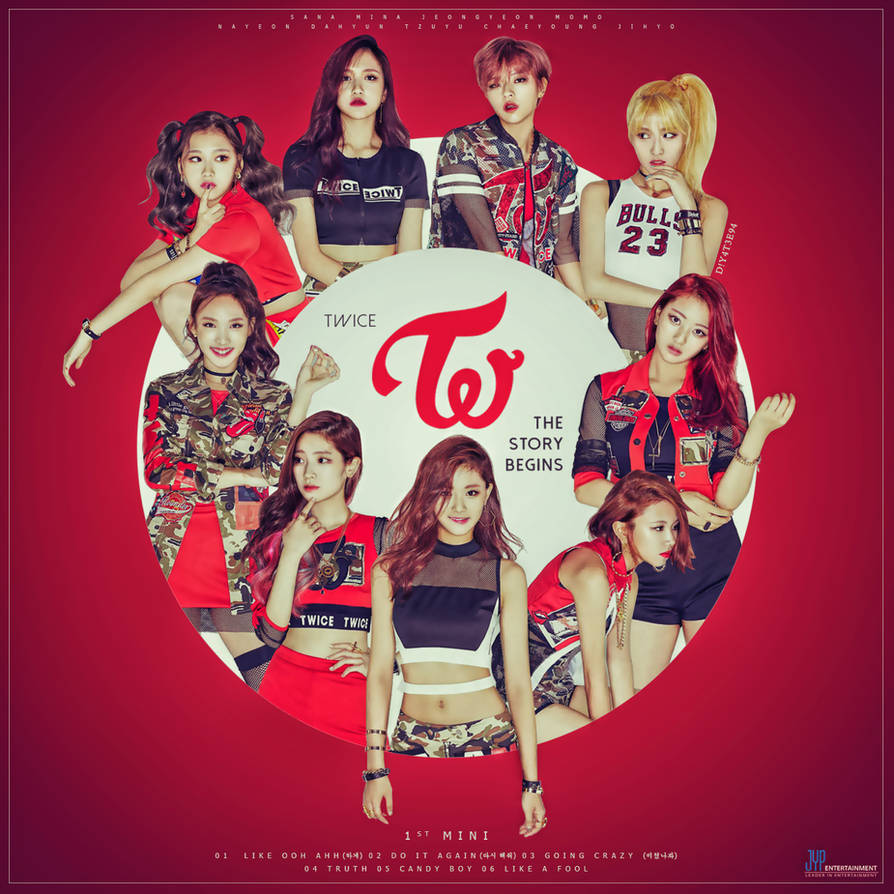 TWICE - The 1st Mini - The Story Begins by DiYeah9Tee4 on DeviantArt