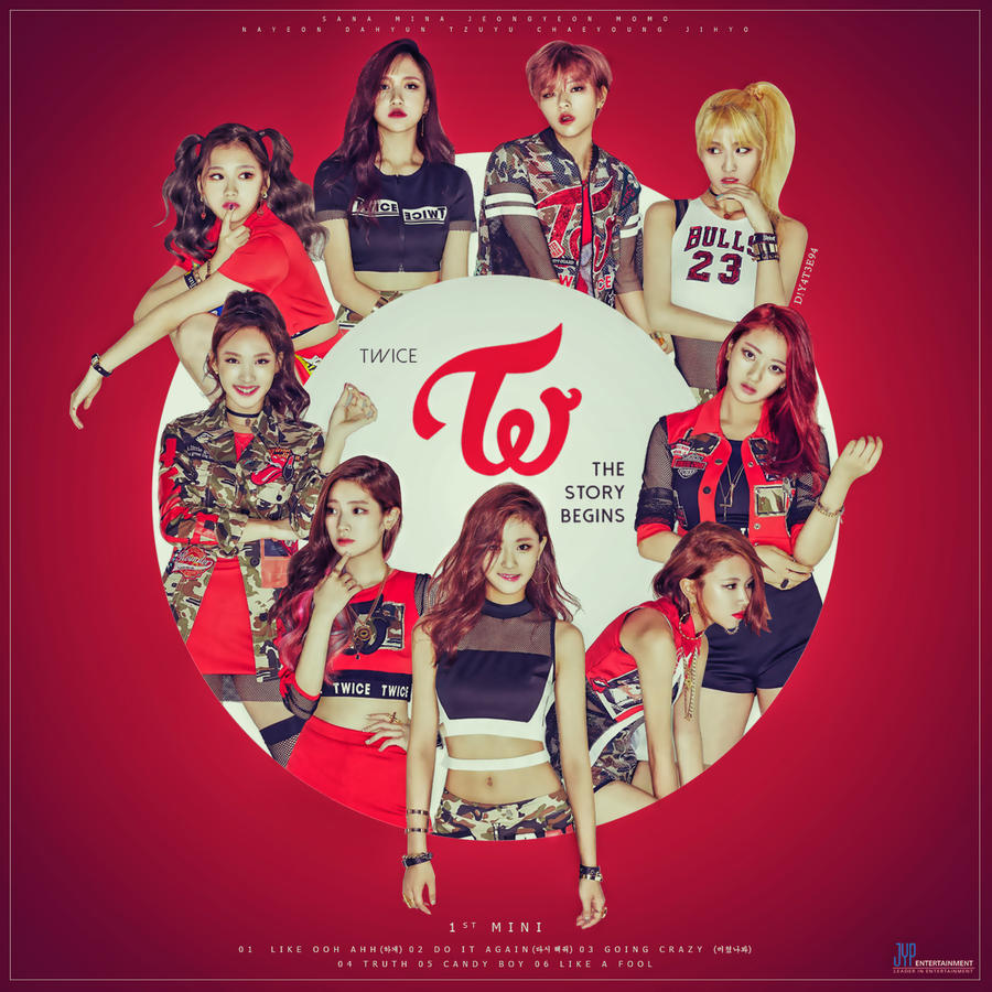 TWICE - The 1st Mini - The Story Begins by DiYeah9Tee4 on