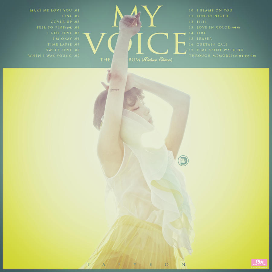 Taeyeon - The 1st Album (Deluxe) : My Voice by DiYeah9Tee4