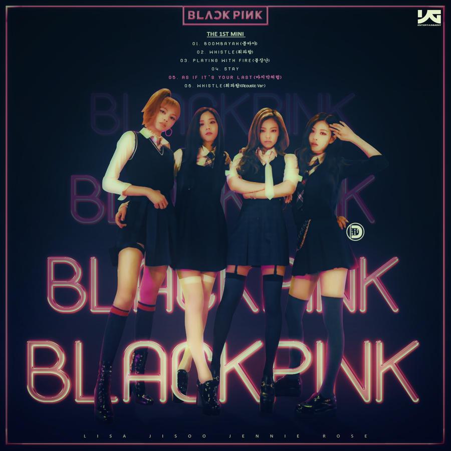 Black Pink The 1st Mini Album Blackpink By Diyeah9tee4