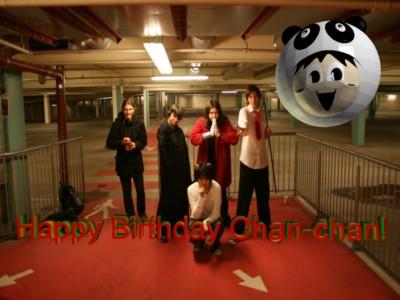 Happy Birthday Chan-chan by sonicchimp