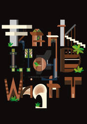 Typographic picture 3 - Franck Lloyd Wright