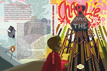 Charlie and the Chocolate Factory-Editorial Design