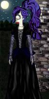 Gothic Leela by MissFuturama