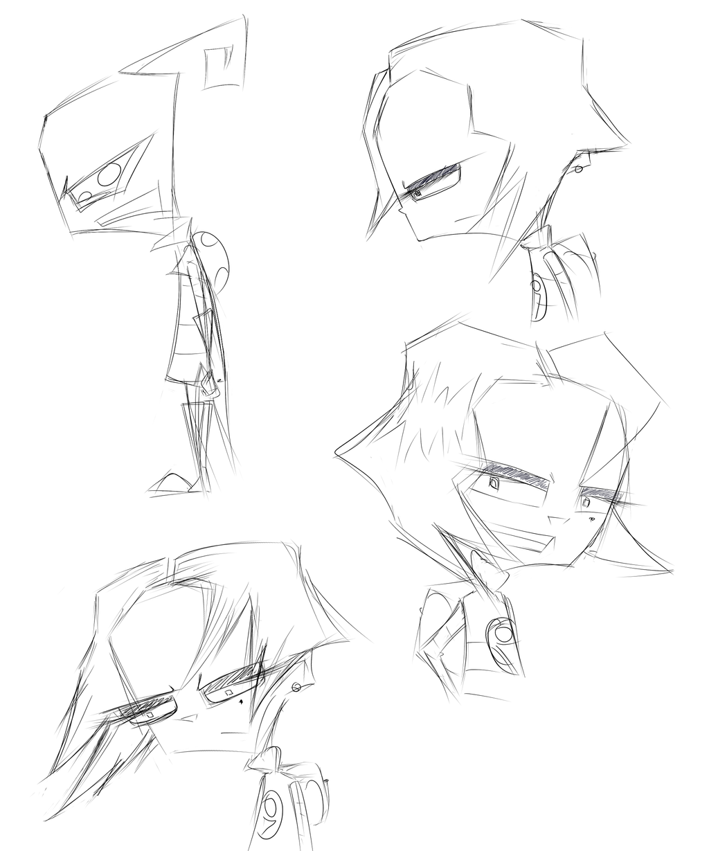Tak sketches by MissFuturama