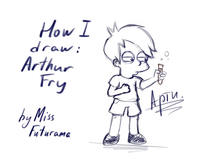 How I draw: Arthur Fry by MissFuturama
