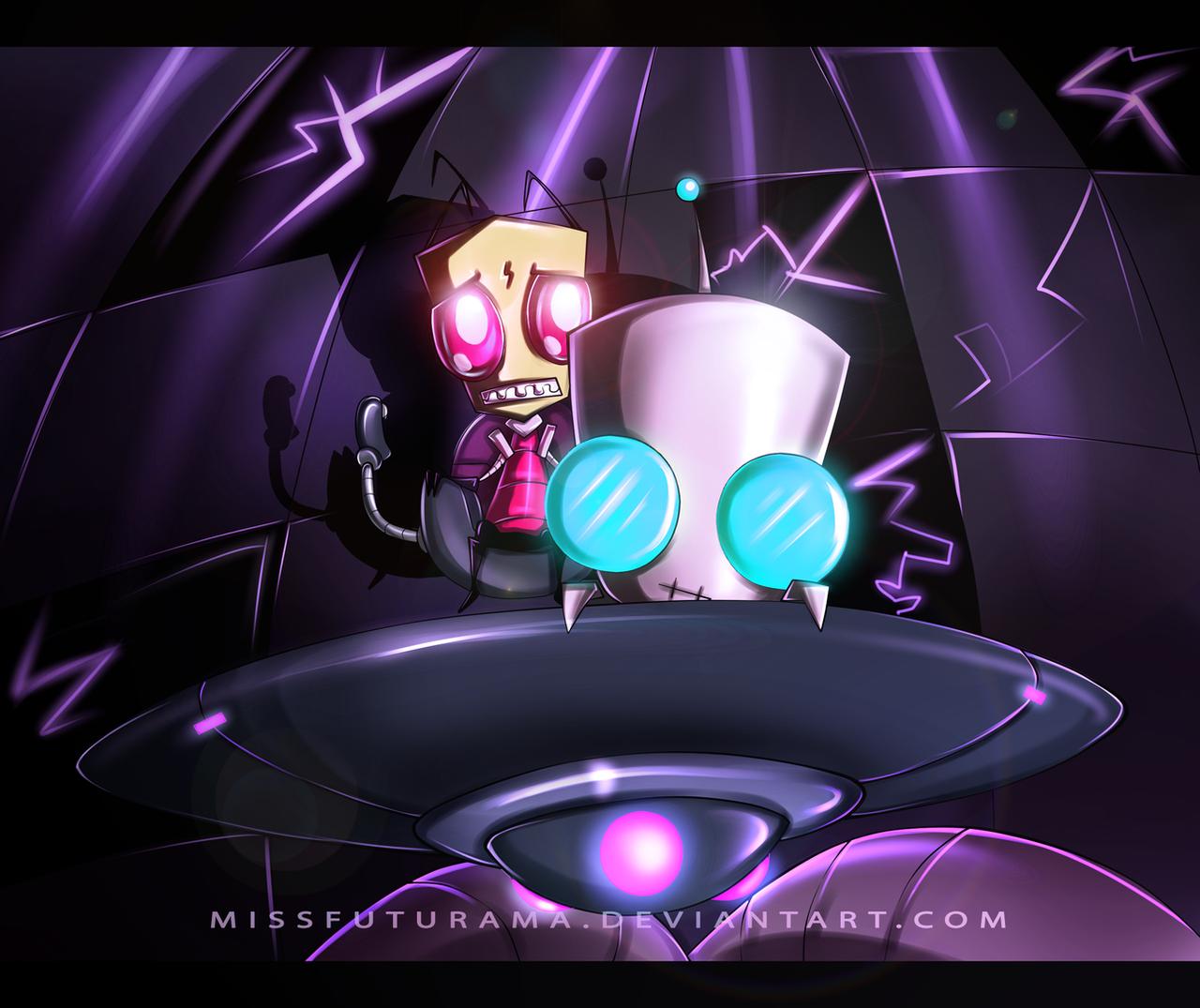 Zim's Problems by MissFuturama