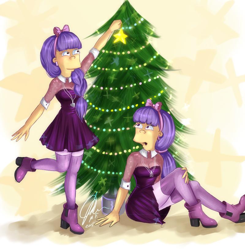 Sherri and Terri Christmas Edition by MissFuturama