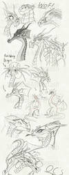Sketchdump (2018 - 19) by Mythical-Mishmash