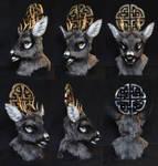 Celtic Deer turnaround