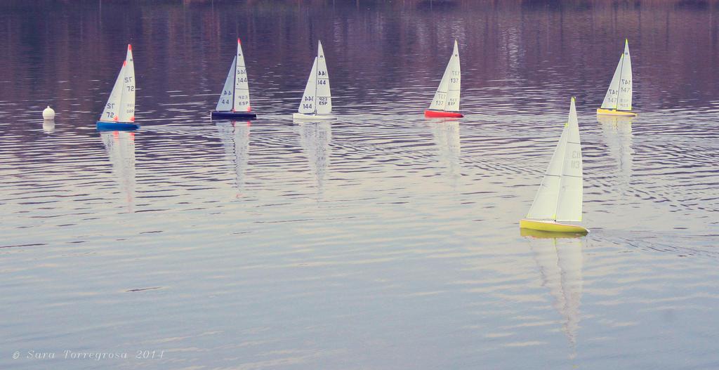 Carrera de barcos by s-a-s-a