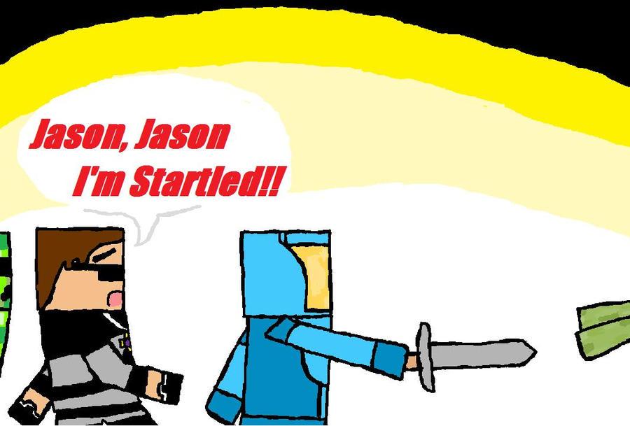 Skydoesminecraft and jason