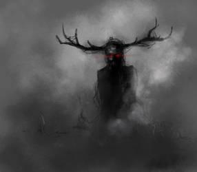Dark Entity in the Shadows