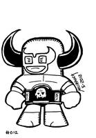 Buffalo JR Sketch Card Tribute by Dungeonhordes