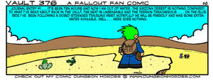 Vault 376 a Fallout Fan Comic #6 by Dungeonhordes