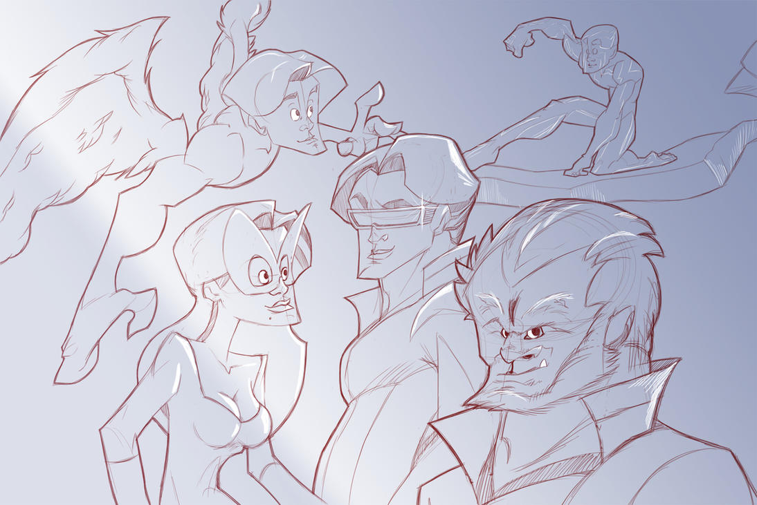 X-Men by Cheeraw