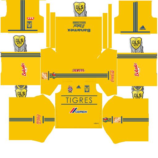 dream league soccer kits tigres de la universidad