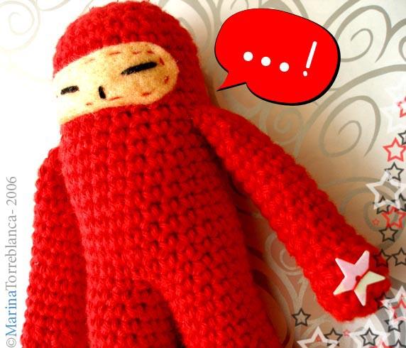 Amigurumi ninja by specialsally