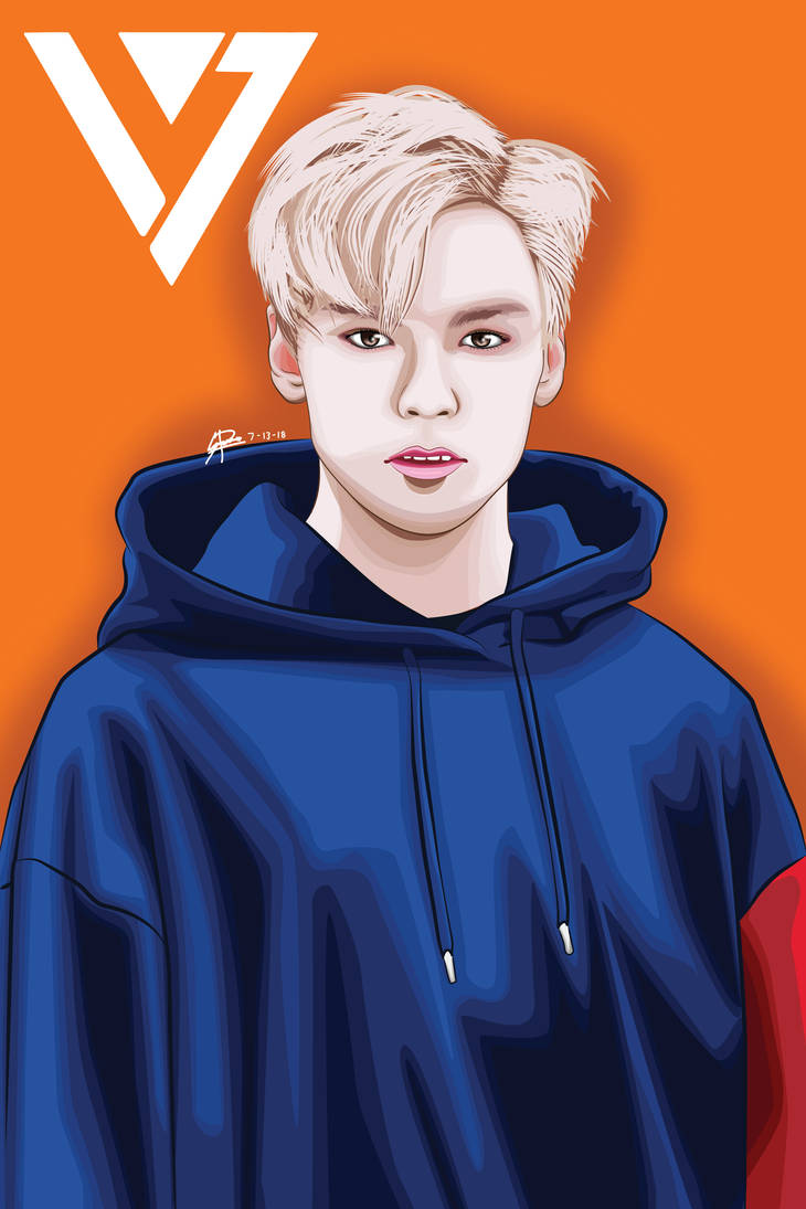 Vernon (SEVENTEEN) by RaiKa10 on DeviantArt