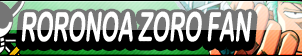 Roronoa Zoro Fan Button by buttonmaker