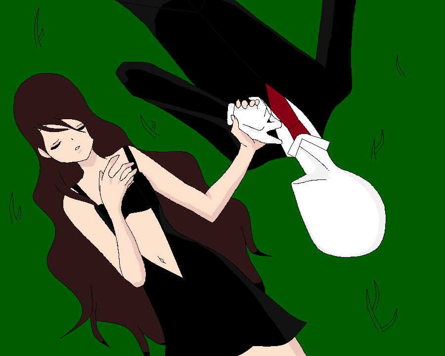 Slenderman X Young Lajane By Slendera Is Insane On Deviantart