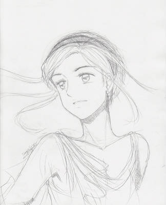 A princess from an old project...