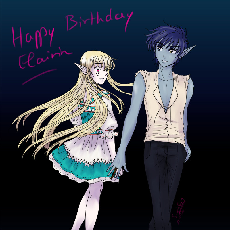 Birthday present for Elairin