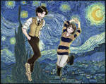 Max and Tessa in Starry Sky