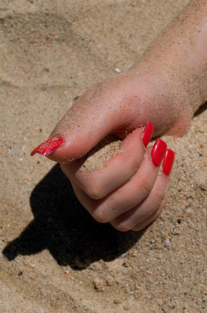 Fistful of sand