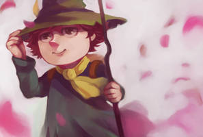 the Moomins : Snufkin by Christine-san