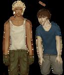 Arne and Misha