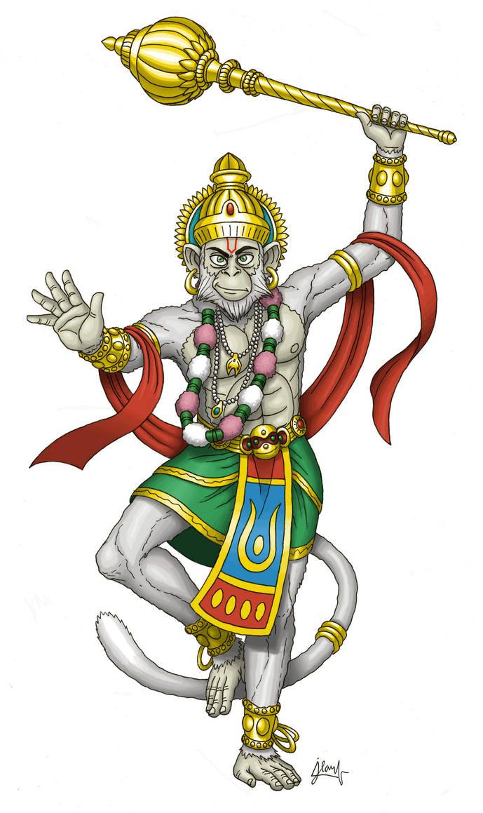 Hanuman by DoctorChevlong