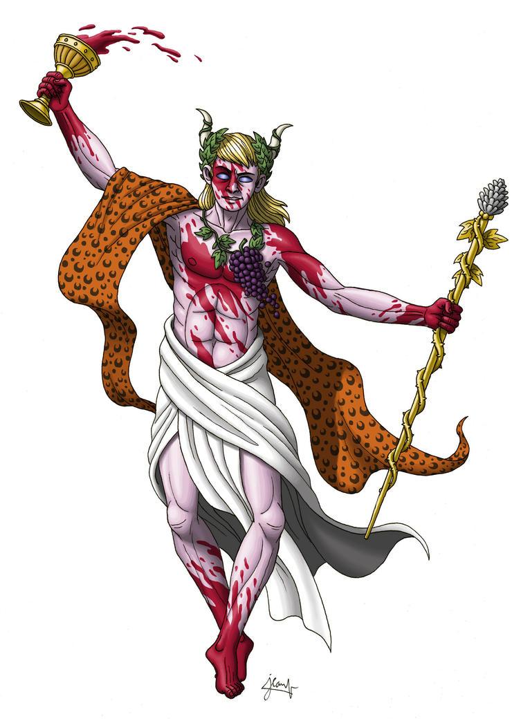 Dionysus by DoctorChevlong on DeviantArt  Dionysus Drawing