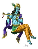 Krishna by DoctorChevlong