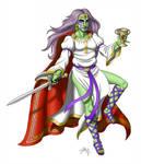 Queen Medb by DoctorChevlong